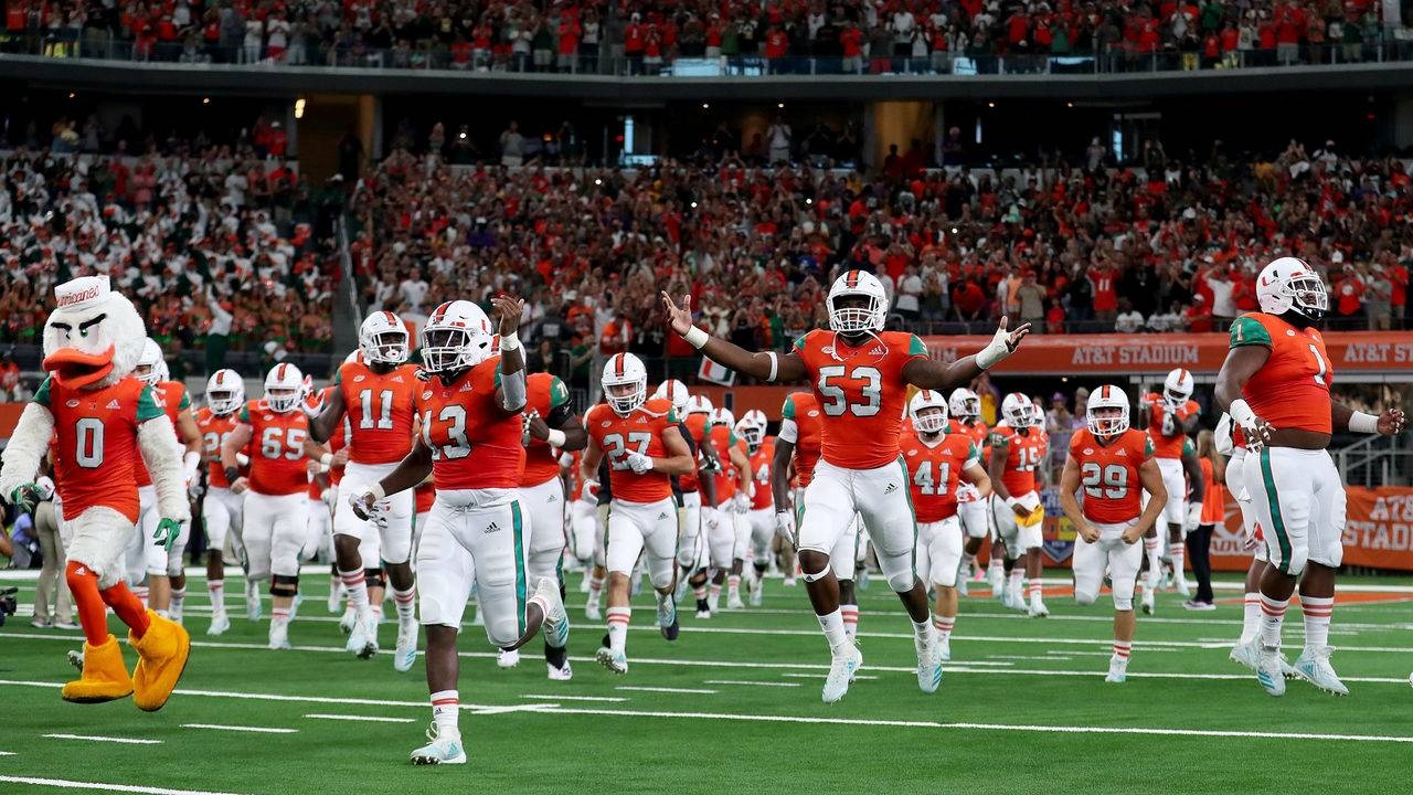 Miami Football Vs Boston College Time Tv Schedule Game
