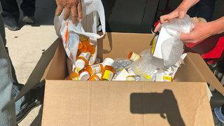 Memorial Hospital collects 261 pounds of unused, expired drugs