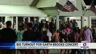 Garth Brooks performs concert at The Barn in Sanford