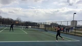 Girls tennis: Dearborn HS v Edsel Ford