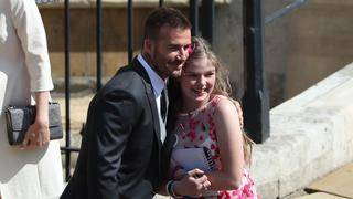 Amelia Thompson, Manchester Bombing Survivor, Shares a Hug With David&hellip&#x3b;