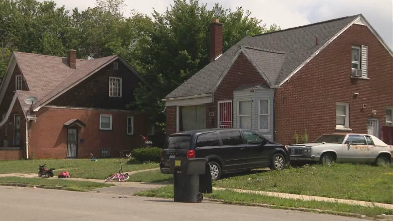 Detroit dad drug dealer home