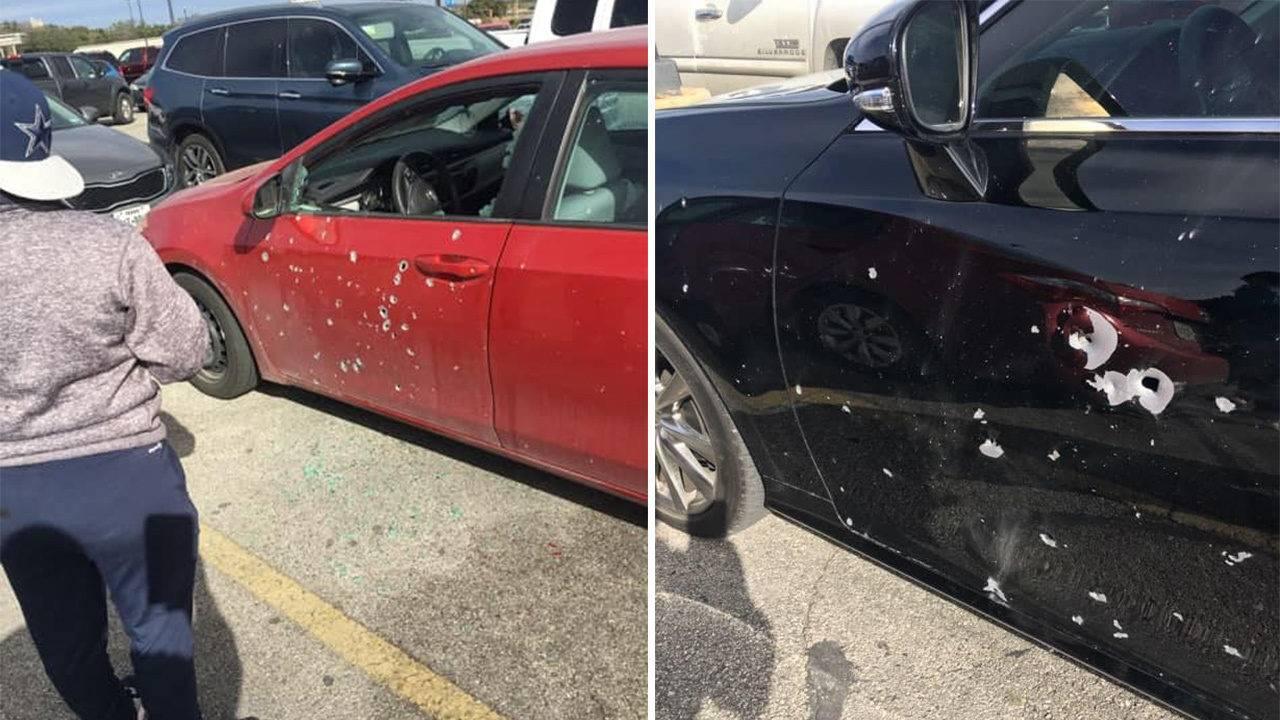 sapd man fires high caliber firearm from car s trunk in