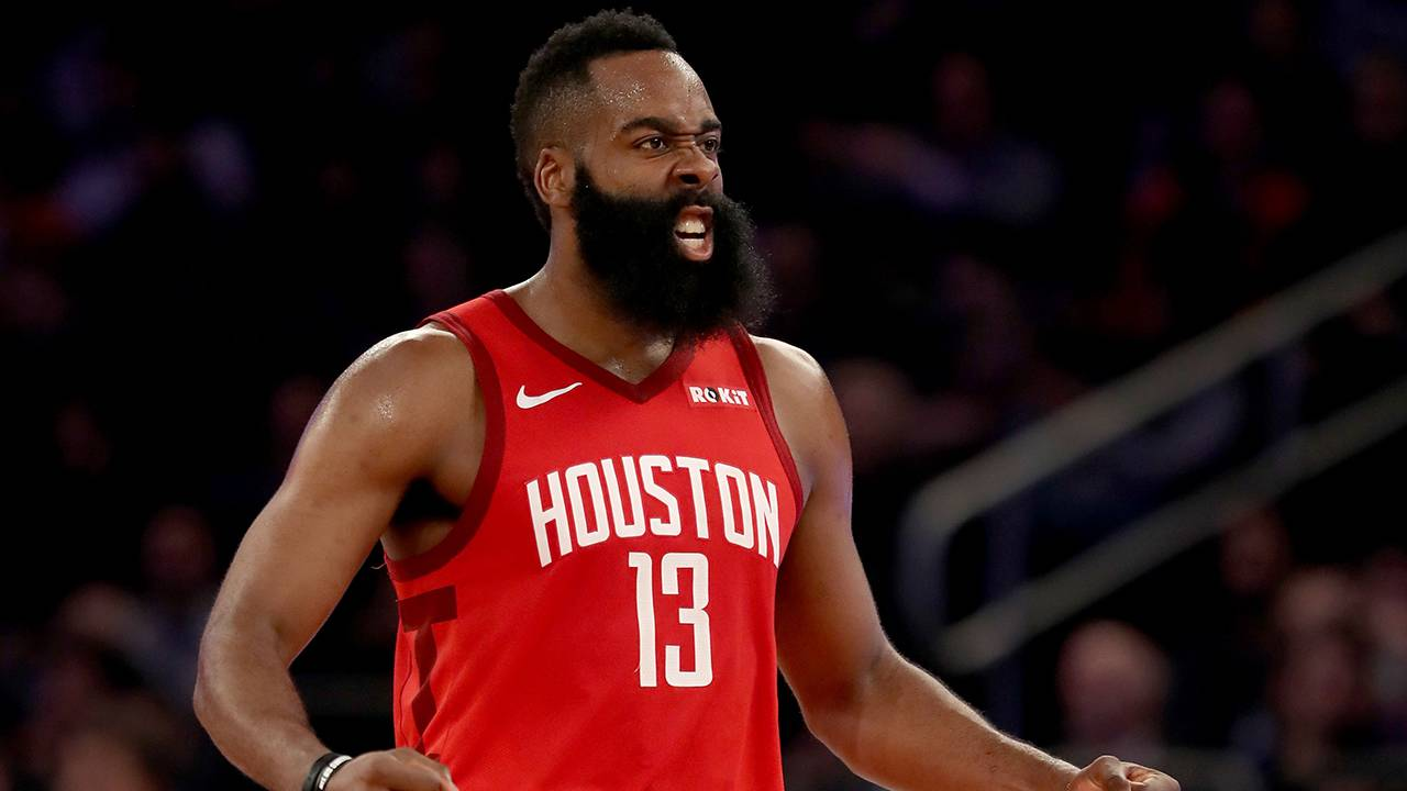 bdbaa00825f5 James Harden sets Rockets record with 61 points in win over Knicks