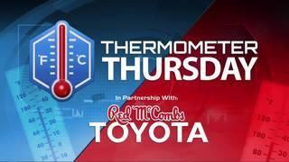 Thermometer Thursday: September 7, 2017