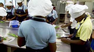 Top chefs take on childhood obesity by teaching inner city kids joy of cooking
