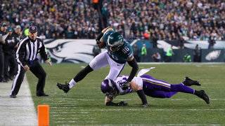 Eagles fly into Super Bowl, rout Vikings 38-7