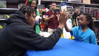 Jalen Ramsey gives away 50 bikes to kids from the Boys & Girls Club