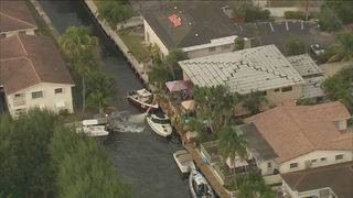 Man seriously burned after boat catches fire in Fort Lauderdale