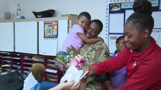 South Florida soldier surprises children at schools after being deployed&hellip&#x3b;