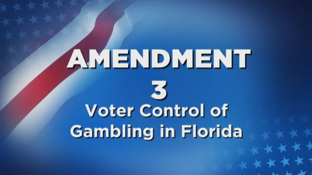 Amendment 3 Voter Control of Gambling in Florida