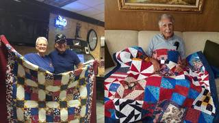 What's Up, South Texas: Group makes quilts for deserving veterans