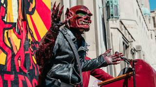 9th Annual Marche du Nain Rouge parade in Detroit this weekend