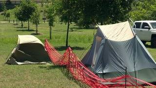 City says parade campouts OK after warning of their end last year