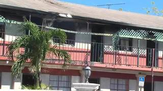 Several families displaced after fire breaks out at Hialeah motel