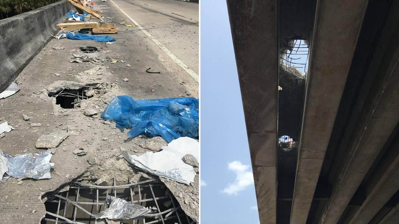 06-03 Bridge damage images provided by FDOT