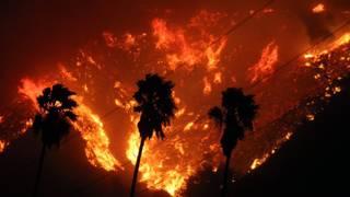Fire engineer dies as California's Thomas Fire keeps burning