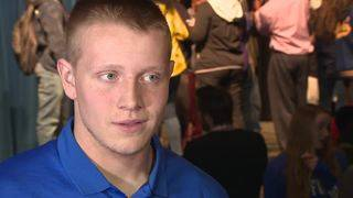WATCH: Clemens DE Carter Breu talks commitment to Air Force Academy