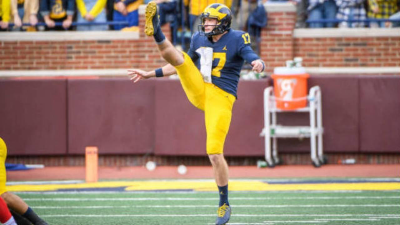 Will Hart Michigan football vs Nebraska