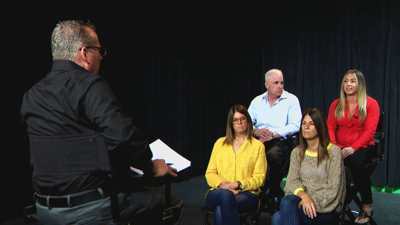 Family of Michelle Mishcon speaks to Jeff Weinsier
