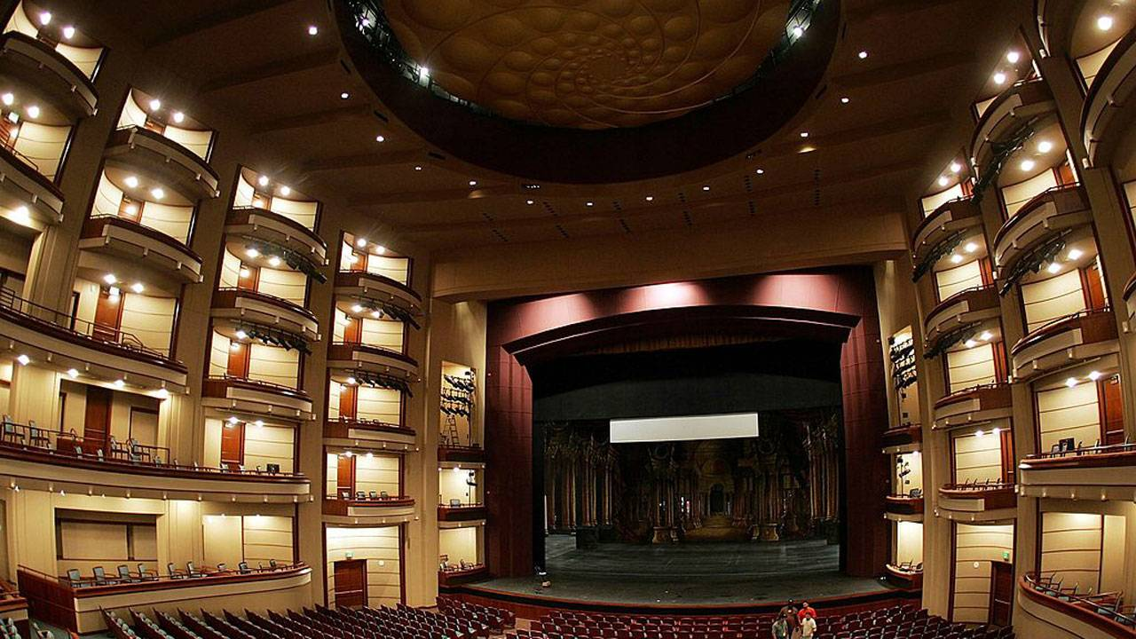 Opera house Miami Arsht Center