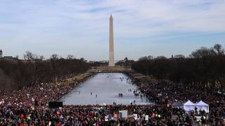 DC Women's March brings protesters to National Mall