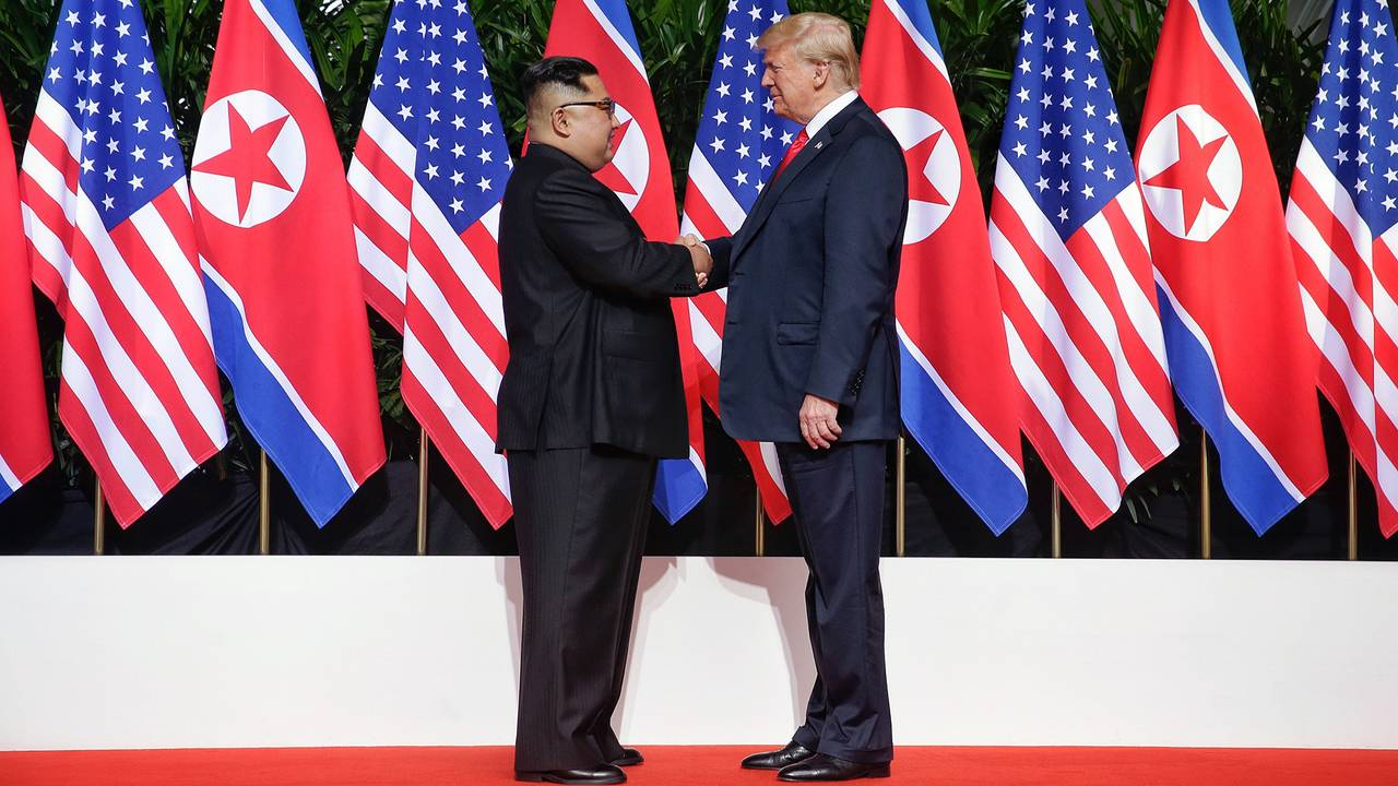 Image result for photos of trump with kim jong un in hanoi