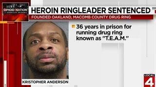 Metro Detroit heroin ringleader sentenced