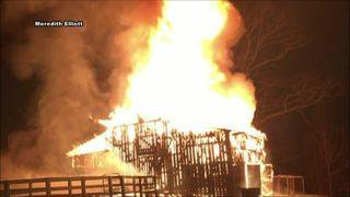 Bedford family speaks out about losing several farm animals in barn fire