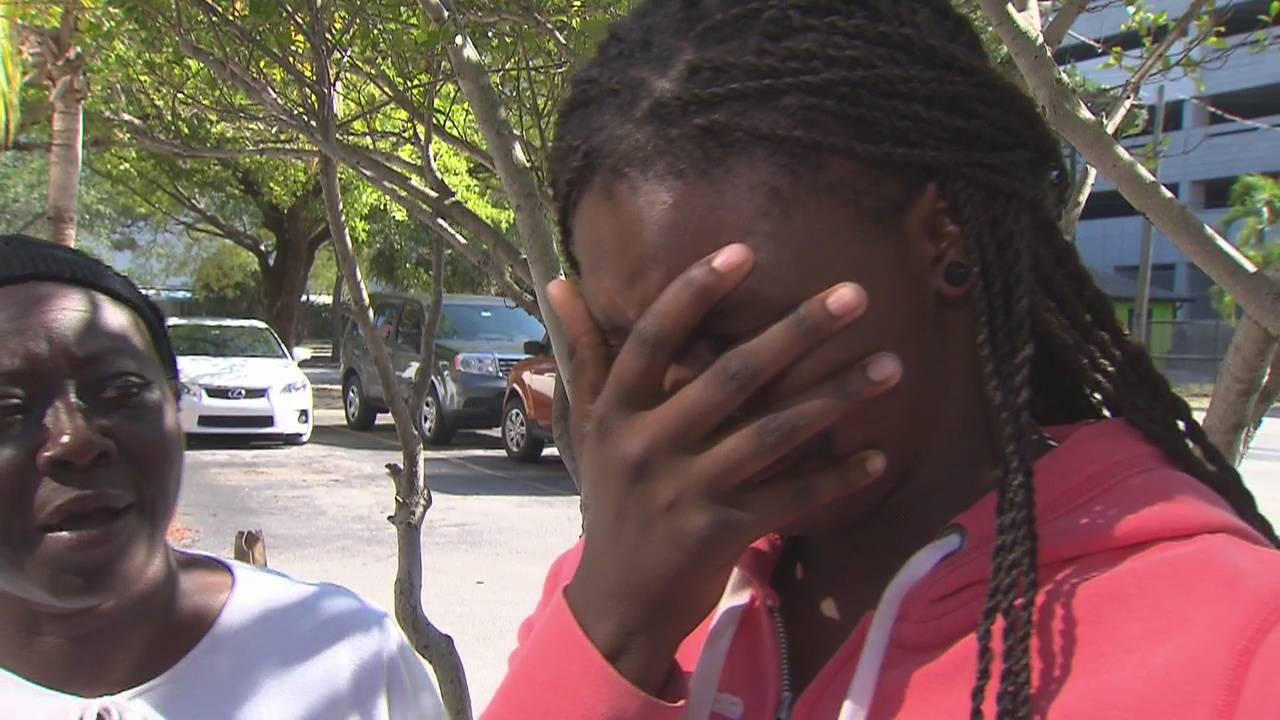 Mariah Green crying