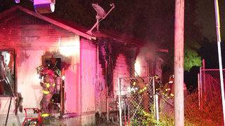 Fire destroys vacant home on South Side