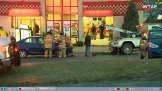 Car crashes into an Arby's restuarant in Pennsylvania