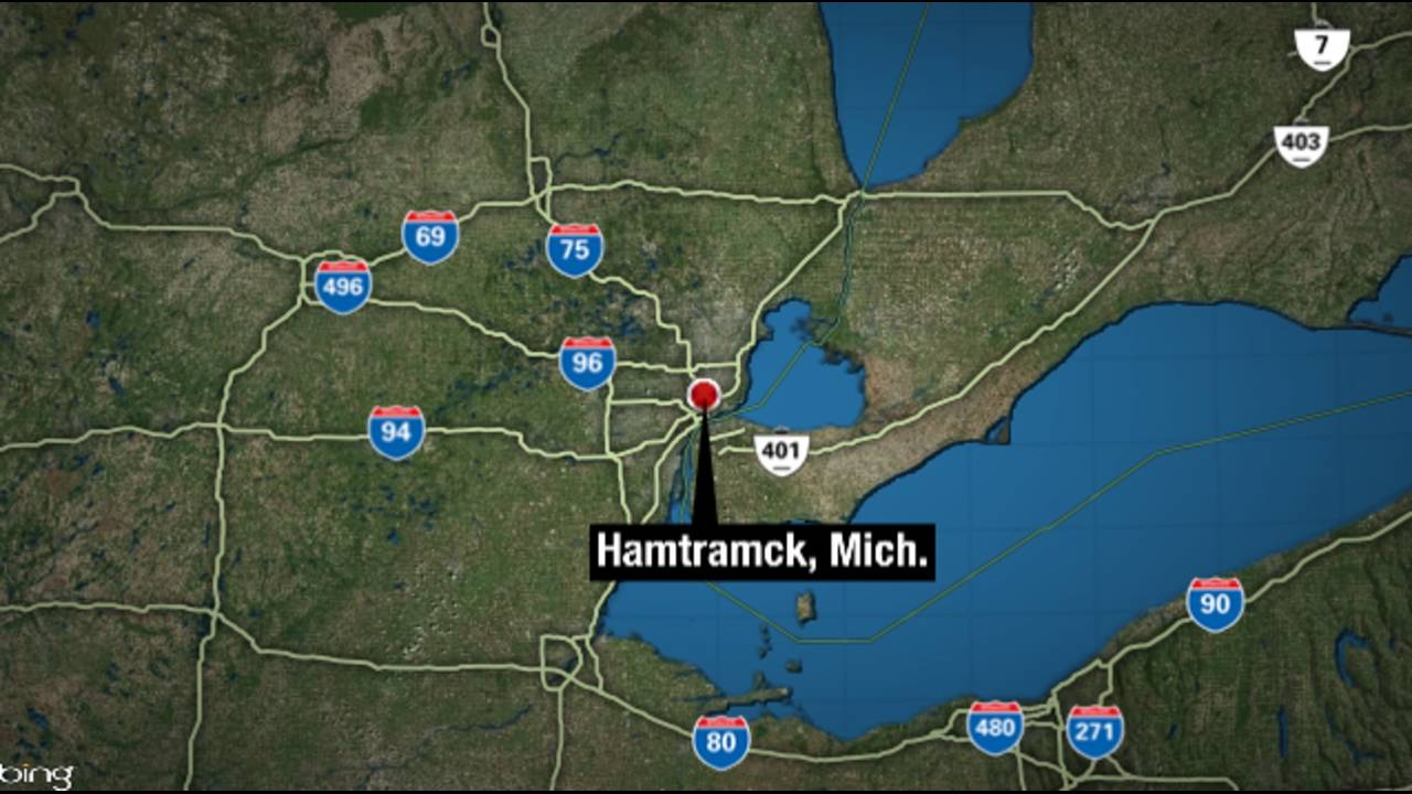 Hamtramck Michigan Map_36281890