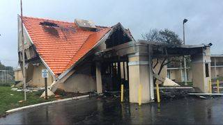 Madison Heights hotel damaged in early morning fire