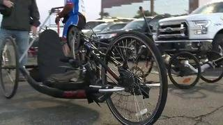 400 miles from SA to Fort Worth: Veterans riding bicycles for good cause