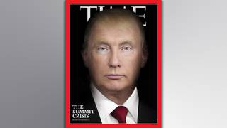 Trump and Putin morph into the same person on Time magazine cover