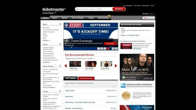 Ticketmaster issues millions of free ticket vouchers m4hsunfo