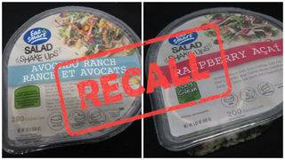 Recall issued for salad products over listeria concerns