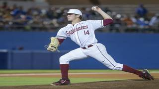 Seminoles lose ace Tyler Holton for season with elbow injury