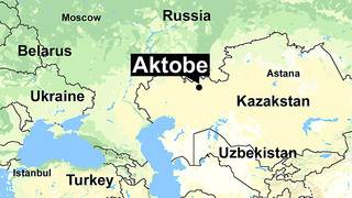 52 killed in Kazakhstan bus fire