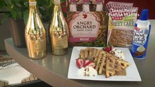 H-E-B Backyard Kitchen: Texas Pecan Praline Waffles