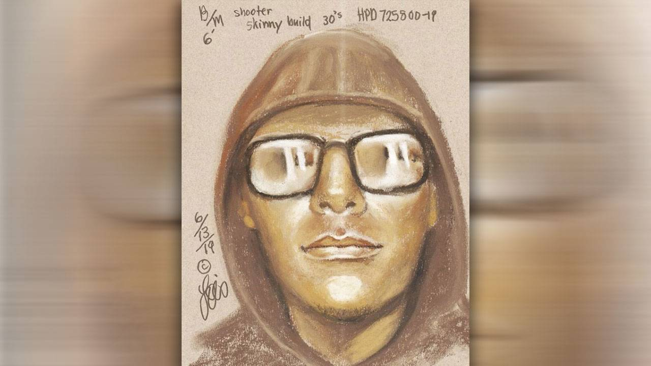 Sketch of man wanted in connection with Willowbrook Mall armed robbery