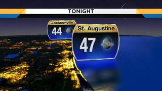Clouds fade Saturday night ahead of major Sunday warm-up