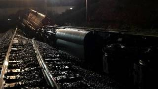 Wet conditions may have been cause of train derailment in Wyoming, Michigan