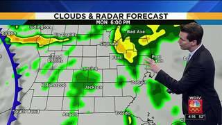 Metro Detroit weather: Scattered showers before cold air arrives