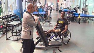 Army combat medic shares story of resilience after undergoing rehab at…