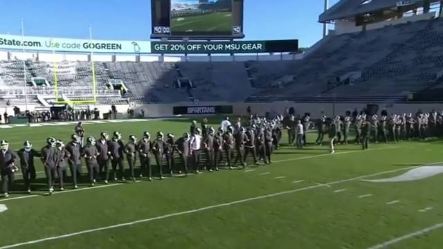 big ten fines michigan state 10k for incident before michigan