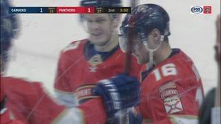 Barkov scores twice as Panthers win fourth straight