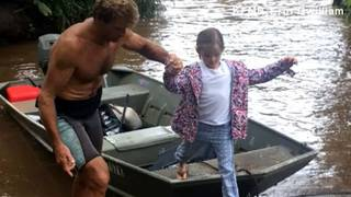 Famous surfer rescues family in Kauai