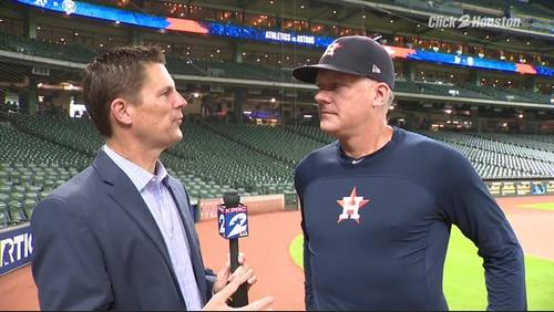 Astros set to announce contract extension for manager Hinch